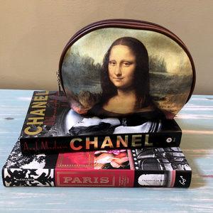 Mona Lisa Art Print Cosmetic Bag